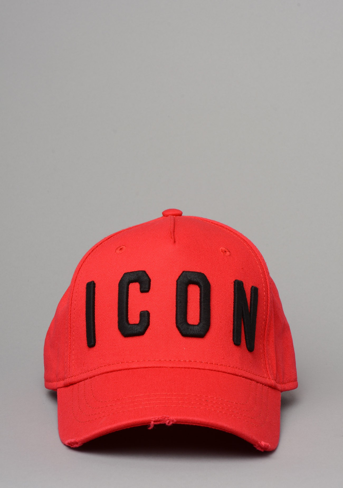 ea91c5b641550 DSQUARED BCM4001 ICON Baseball Cap In Red