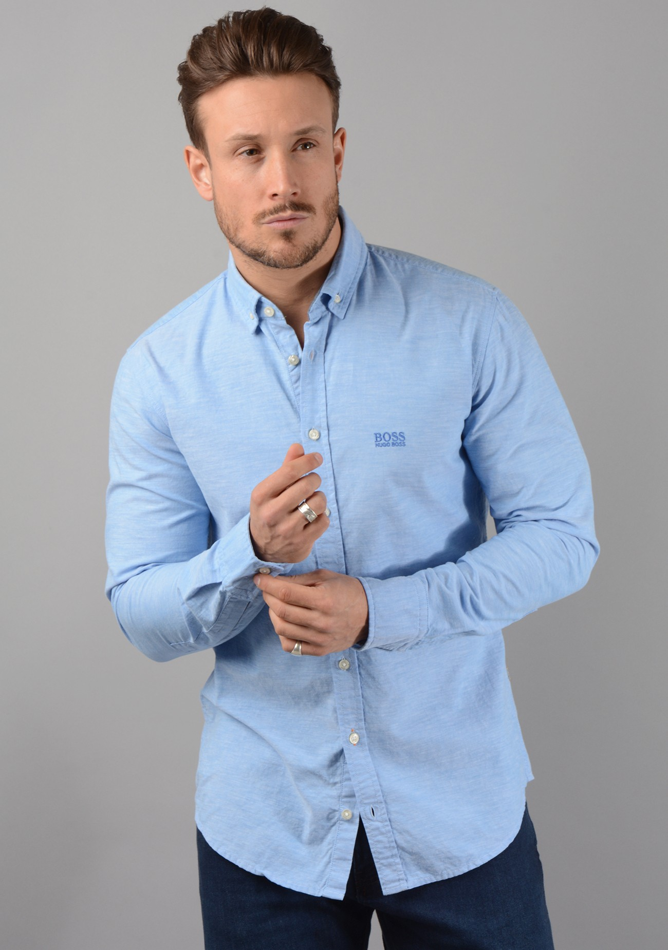 dac98aed6 Epreppy Long Sleeved Shirt in Blue