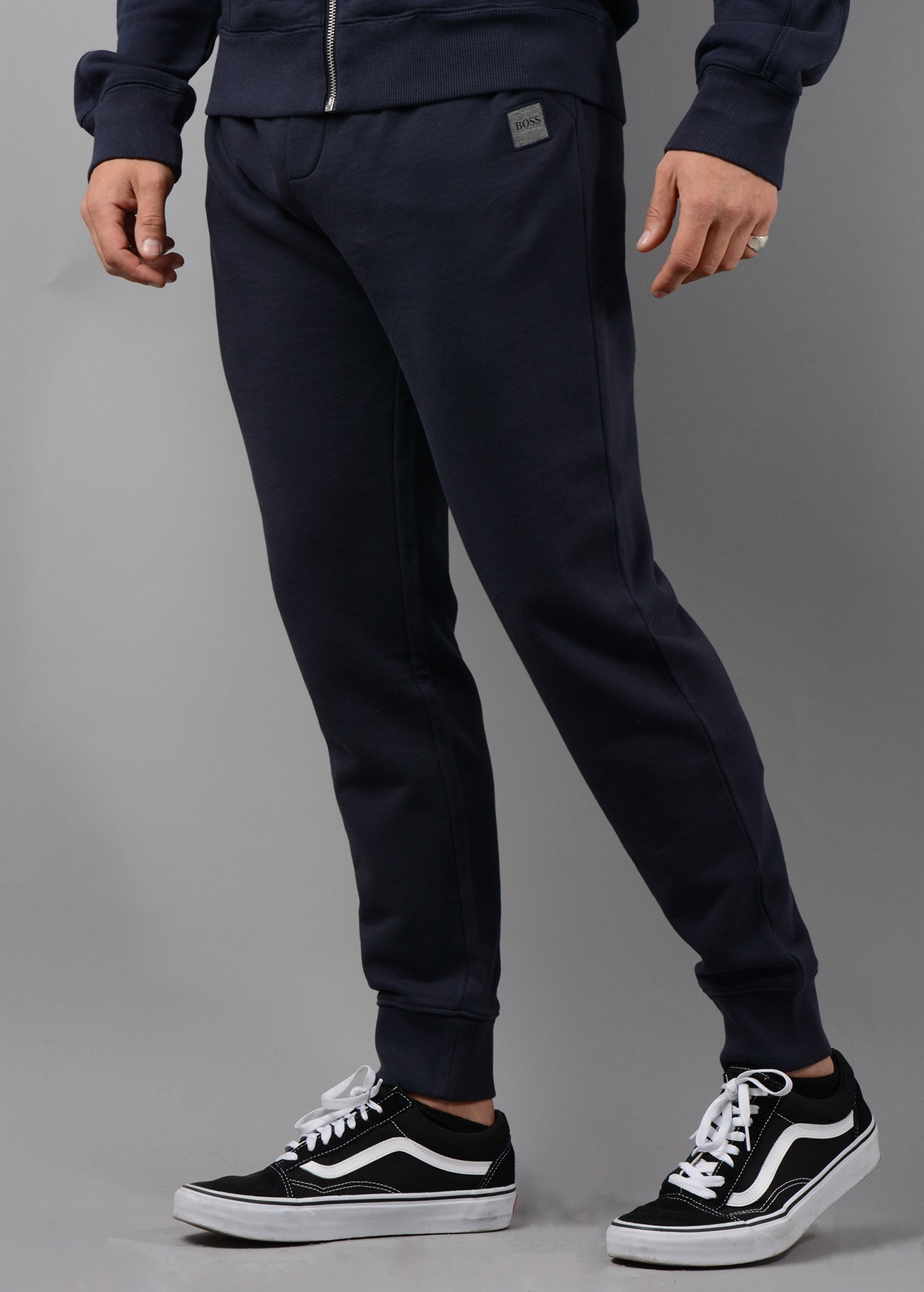 1b3b9c4fd Hugo Boss South Jogger Bottoms in Navy - My Outfit