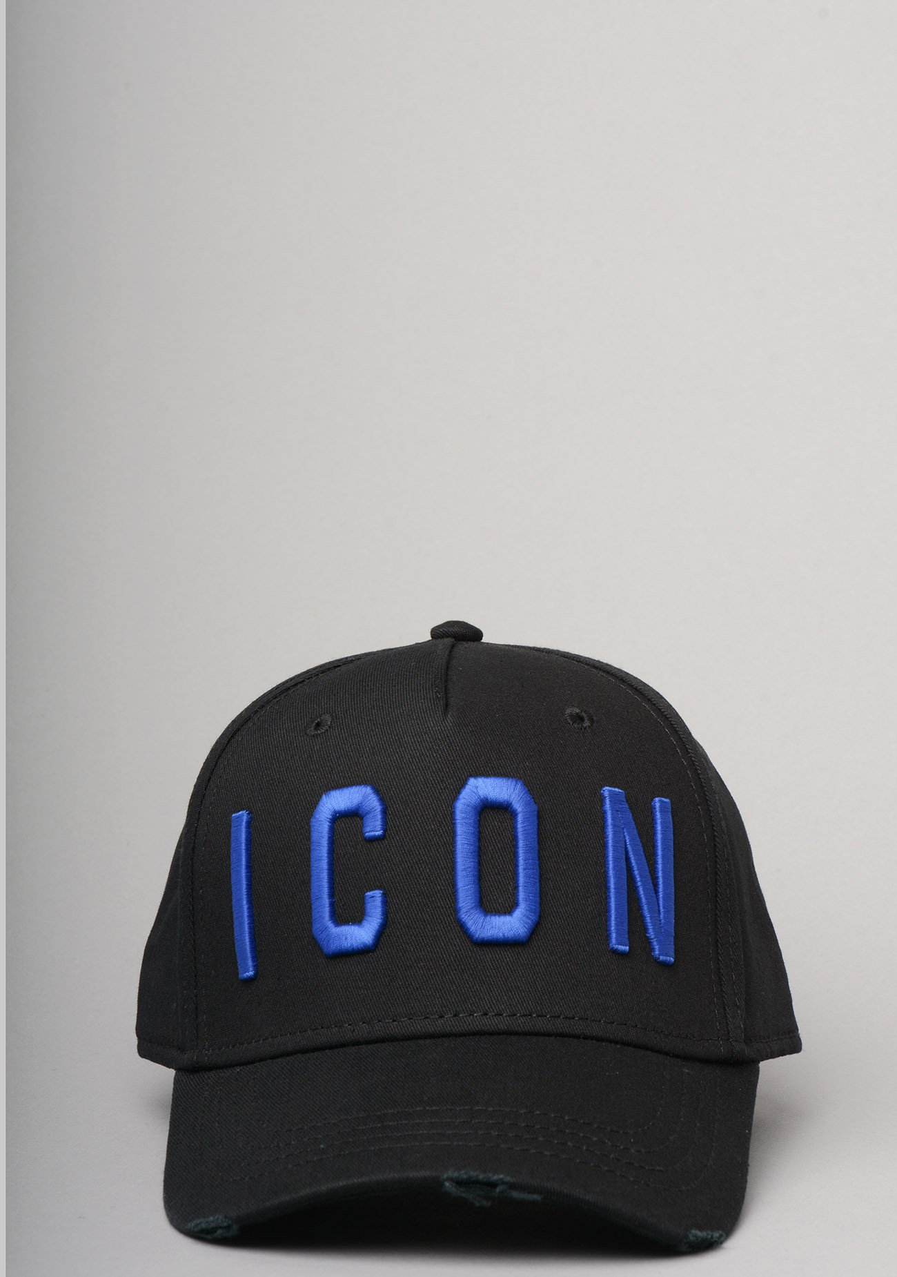 36864f28b ICON Baseball Cap In Black And Blue