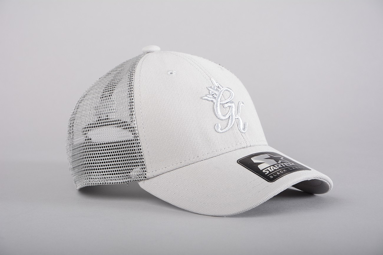 f9bbcc207 Gym King Trucker Cap in Grey - My Outfit