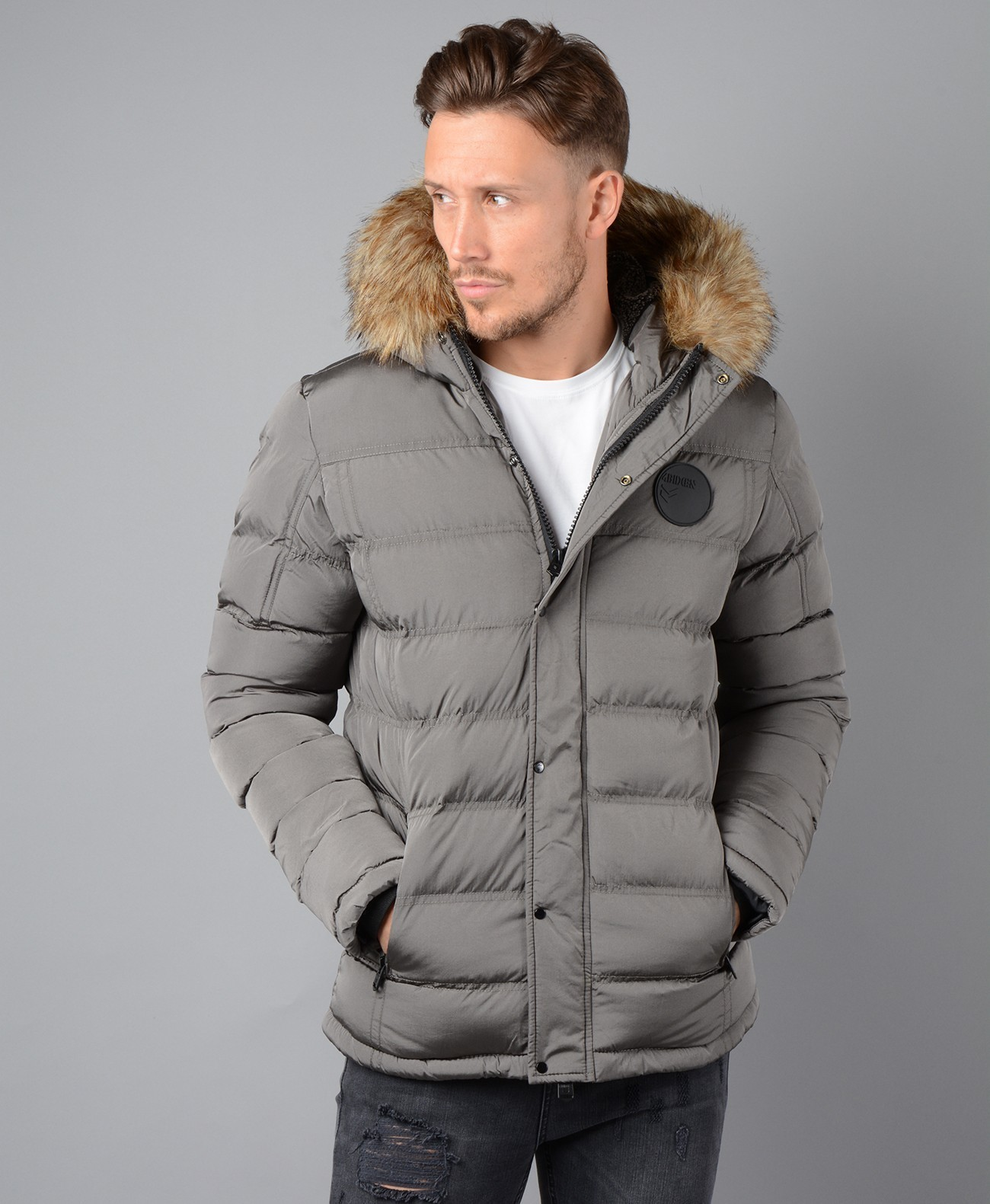 Storm Jacket in Grey