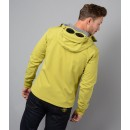 026A Shell Sweatshirt Jacket in Yellow