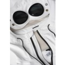 028A Shell Goggle Jacket in White