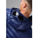 061A D.D. Shell Lightweight Down Goggle Jacket in Blue