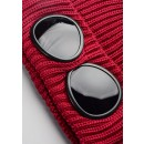 07CMA213A Goggle Beanie In Red