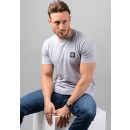 24141 Small Logo Patch T-Shirt in Lilac