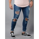 260 Ripped Jeans In Dark Blue
