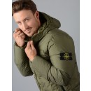 40223 Garment Dyed Crinkle Down Jacket in Army Green