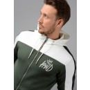 573 Mert Poly Hooded Top in Green