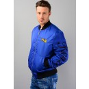 5BL191 Bomber Jacket In Blue