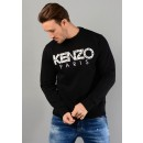 5SW000-4MD Paris Sweatshirt in Black