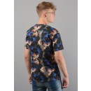 5TS0434SJ Indonesian flower T-Shirt In Floral Pattern