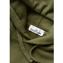 62820 Hooded Sweat in Olive