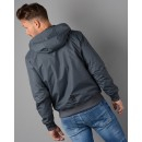 6YPB35 Hooded Jacket In Grey