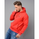 6YPM63 Overhead Hoodie in Red