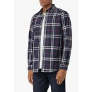 8018640 Classic Check Shirt in Navy