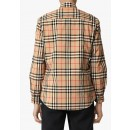 8020863 Classic Check Shirt in Beige