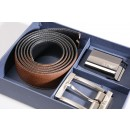931506 CC883 Reversible Belt set in Black And Brown