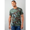 Camo T-Shirt In Camouflage