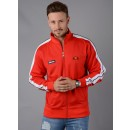 Cervino Track Top In Red
