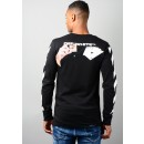 Diag Card Long Sleeve T-Shirt