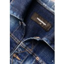 S74AMM1027 Dan Jean Denim Jacket in Blue
