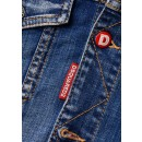 S71AN0185 Dan Jean Jacket in Denim in Blue