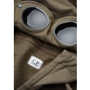 06CMSS009A Goggle Hoodie in Khaki