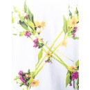 Floral Arrow Print T-Shirt in White