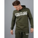 Fresh Couture Fitted Hoodie in Khaki