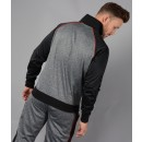 Jetter Track Top In Charcoal