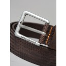 Josel_Sz35 Leather Belt in Brown