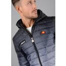 Lombardy Fade Jacket in Black and White