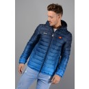 Lombardy Fade Jacket in Blue