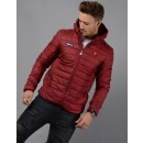 Lombardy Padded Jacket in Burgundy