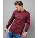 M01SW02 Keyline Sweatshirt in Burgundy