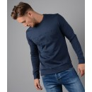 Mens Salbo2 Slim Fit Sweatshirt in Navy