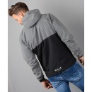 NC564 Reflective Cagoule Jacket in Black & Silver