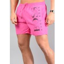 Octopus Swim Shorts in Pink