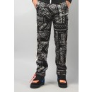 Palm Angels mens Bandana track pant in black