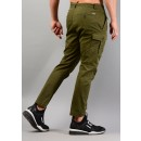 S71KB0146 Cargo Trousers In Khaki