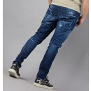 S71LB0326 Tidy Biker Jeans in Denim Blue