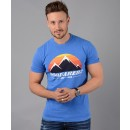 S74GD0291 D2 T-Shirt in Blue