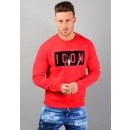 S74GD0312 ICON Sweatshirt In Red
