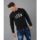 S74GU0220 Icon Sweatshirt in Black