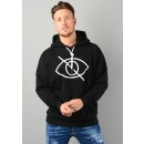 Sensitive Content Hoodie in Black