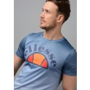 Todi Faded Poly T-Shirt in Blue