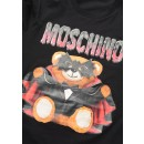 V0701 Bat Teddy Bear T-Shirt in Black
