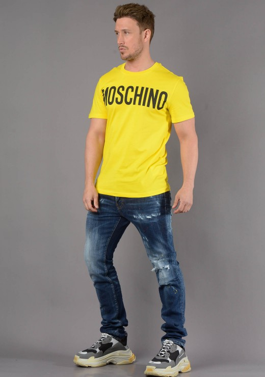 MOSCHINO - 0705 T-Shirt in Yellow